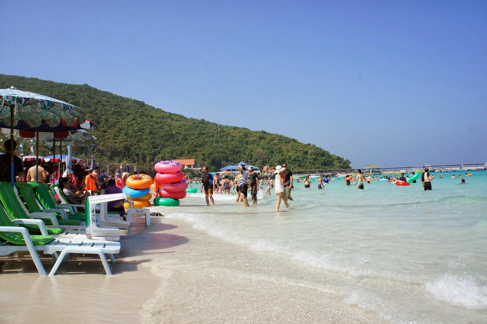 【タイ07】ラン島で水着美女見学からテーメーカフェへ!